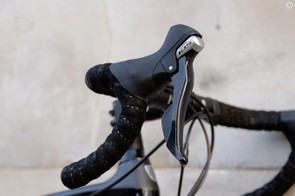Bontrager handlebars have a shallow drop and short reach which results in a more upright position