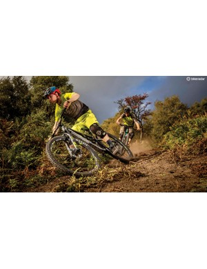 It's awesome for hustling really hard up, down or along techy trails