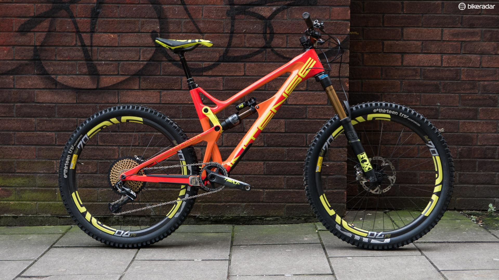40810b71a0a The Intense Tracer 275C Factory Build is one shiny enduro bike