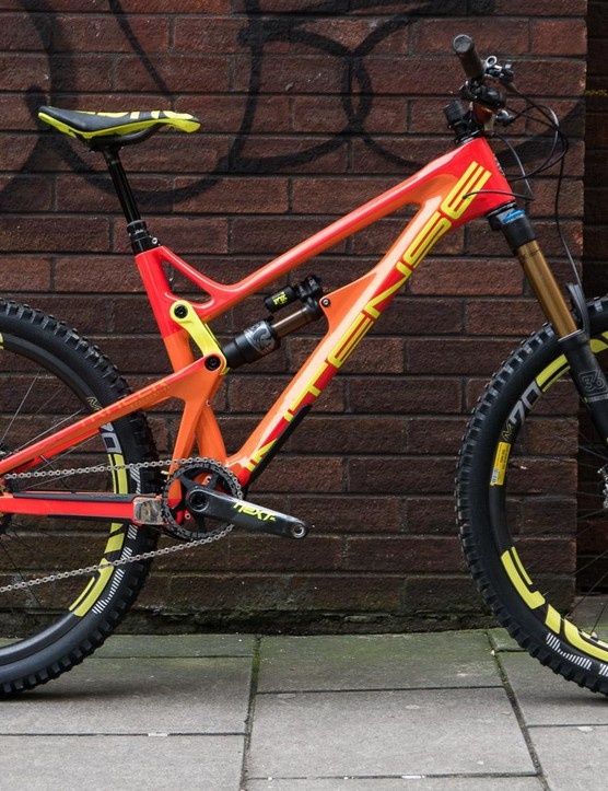 The Intense Tracer 275C Factory Build is one shiny enduro bike