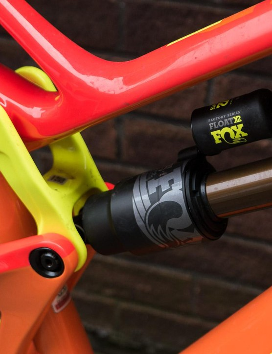 The X2 rear shock is a top performer
