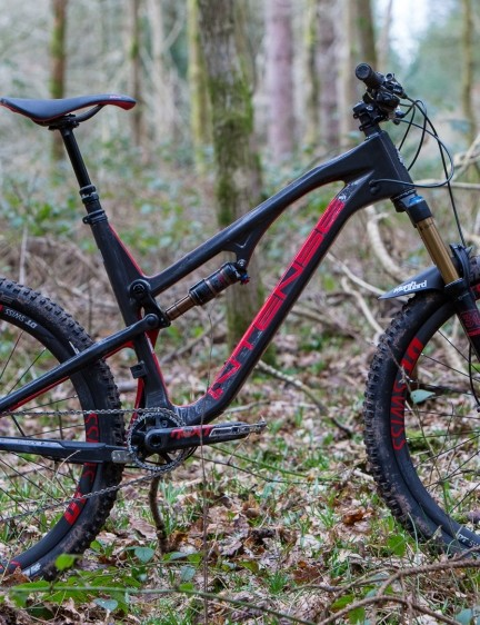 The Spider Carbon is meant to be a do-it-all trail bike
