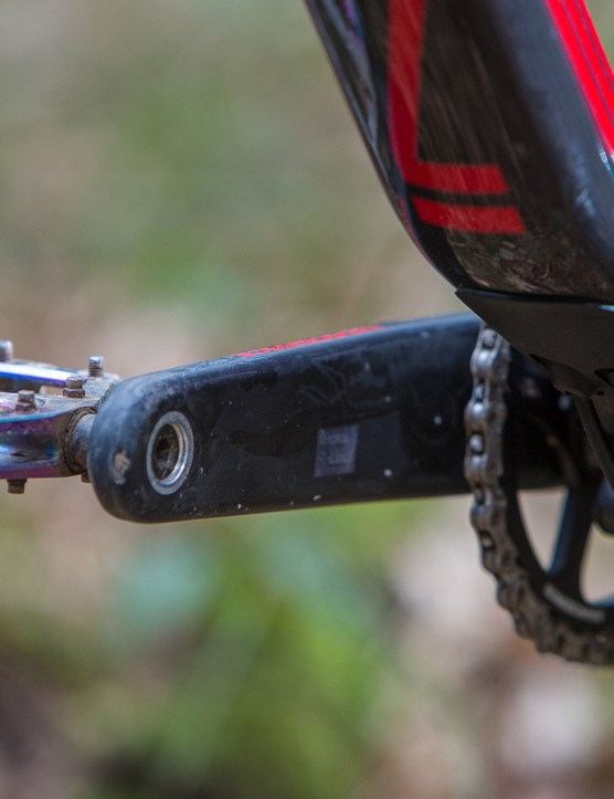 All the build kits available with the bikes come with a 1x drivetrain