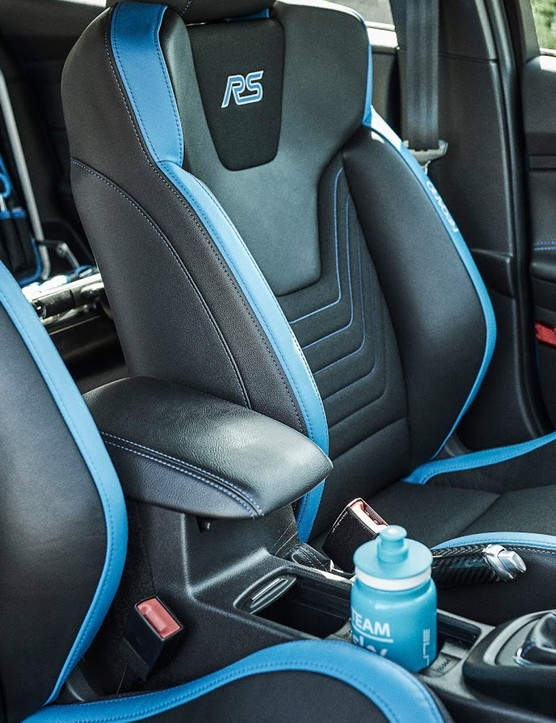 The RS's seats are tailored to the needs of support work, allegedly