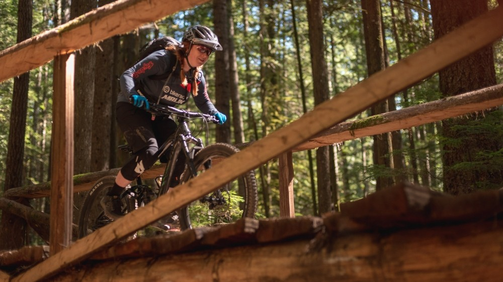 The new geometry is termed 'agile trail' by Liv, and so far lives up to its name