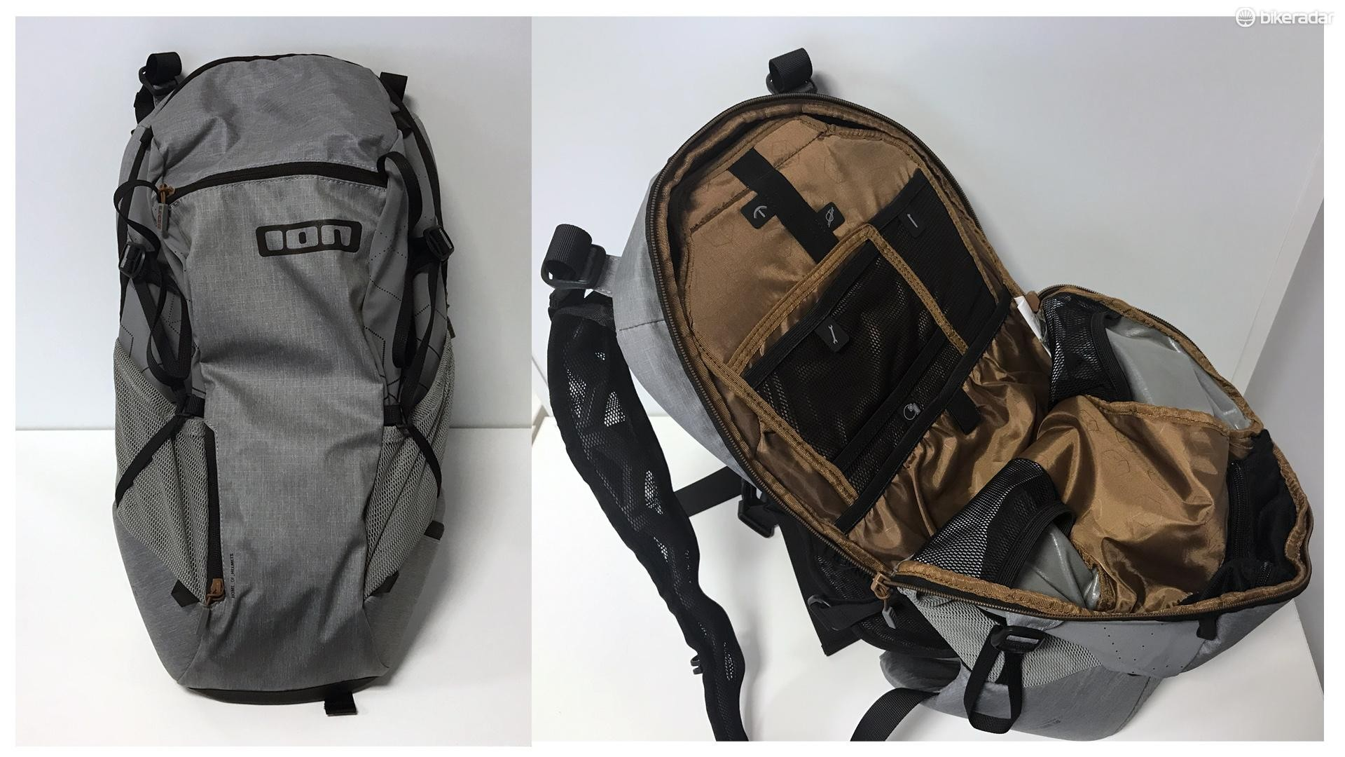 The Ion rucksack has plenty of internal space for stowing your bits