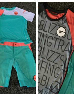 The women's range from Ion features mix-and-match MTB gear
