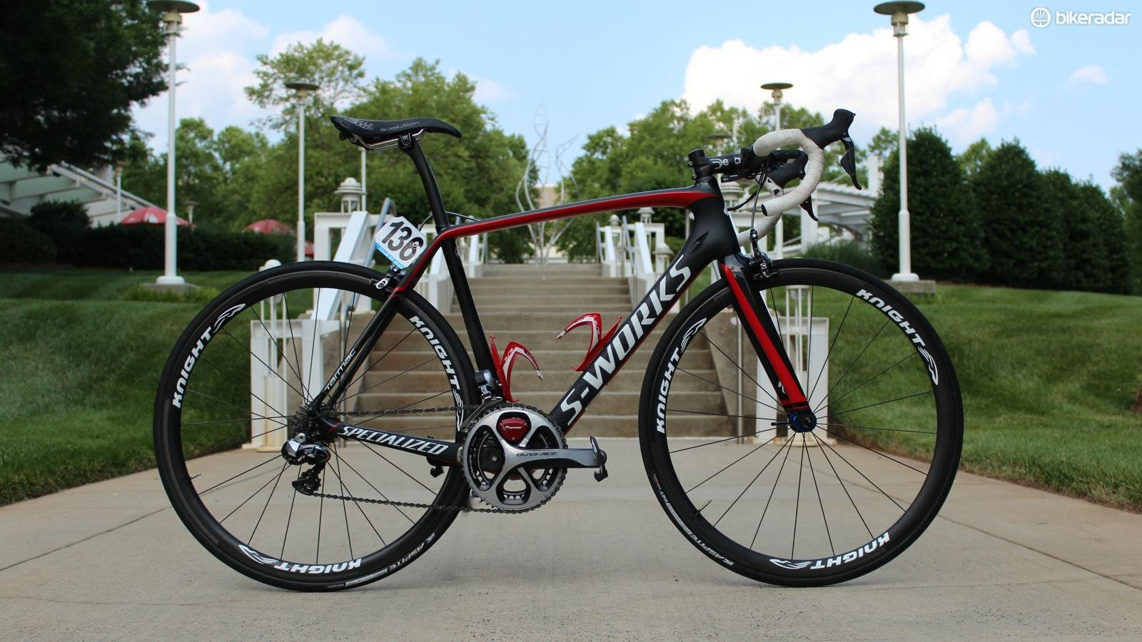 Connor McCutcheon's Team Illuminate Specialized S-Works