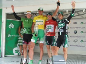 The teams have confirmed their line-ups to compete for 2008's Tour of Ireland podium