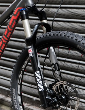 The Creig 24 uses a 26in wheeled fork as Islabikes couldn't find a 24in specific model of suitable quality and weight