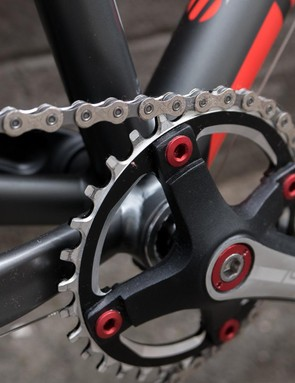 Islabikes always uses low Q-factor custom length cranks across its range