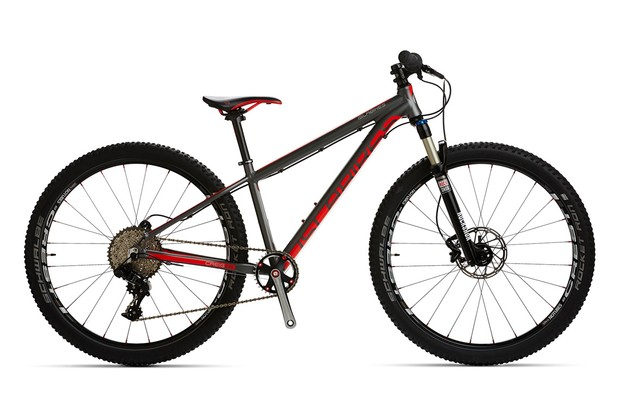 The Islabikes Creig is designed for off-road use with a bespoke frame geometry for junior riders