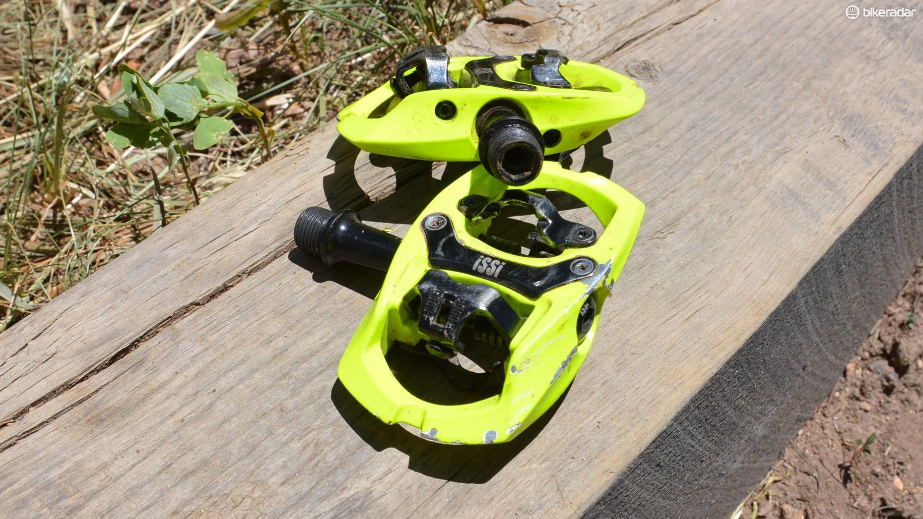 iSSi Trail pedals have the ambitious goal of taking on Shimano's trail pedals