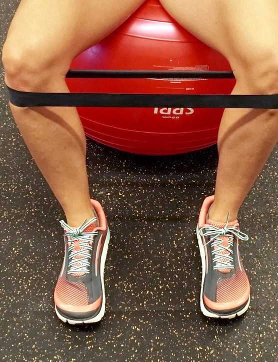 Start with resistance that allows for 15-20 reps, with good form