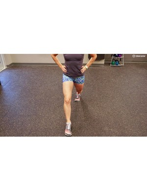 Static lunges are a great exercise for creating knee stability through glute activation