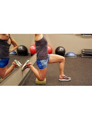But that's a quad stretch — yes it is. Properly functioning quads support properly functioning hips, and thus glutes