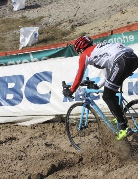 It's amazing what terrain a cyclocross bike can tame