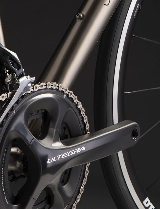 You can have any road bike groupset you want, as long as it's Shimano Ultegra