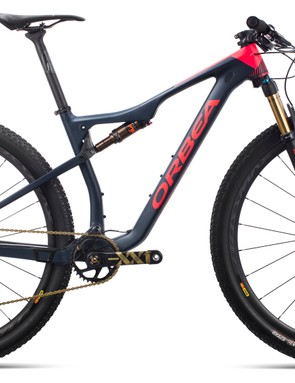 Orbea's new Oiz is available in both 100 and 120mm travel platforms