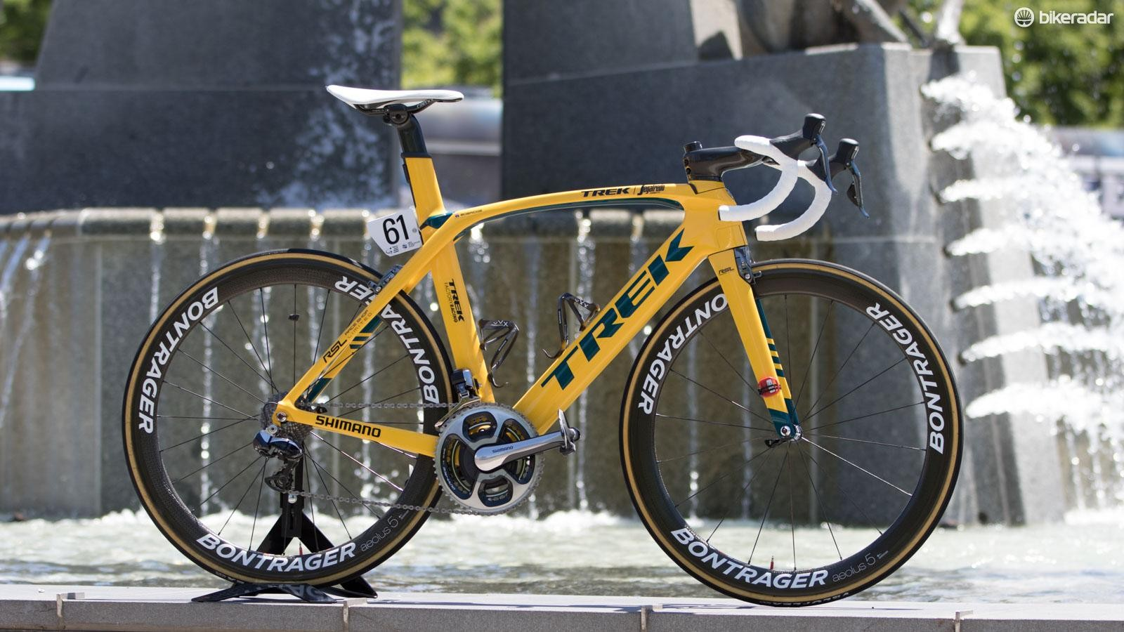 Jack Bobridge's Trek Madone Project One, made specifically for the Tour Down Under
