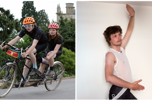 A tandem and a creepy string vest… what does this say about me?