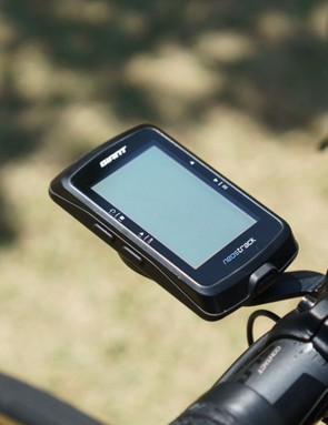 Giant also supplies its own Neos Track GPS head unit