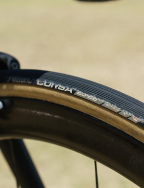 Low-pressure tyre wear or impressive cornering technique?