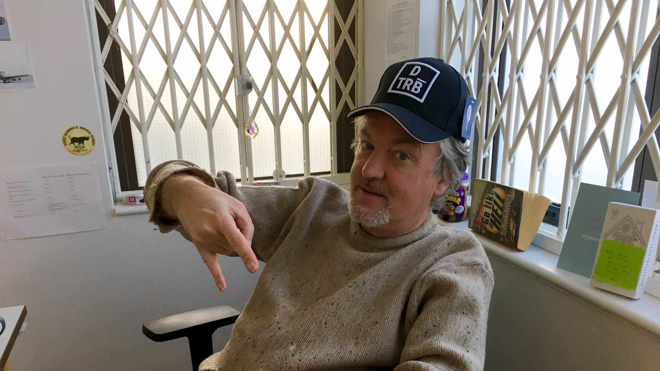 James May didn't choose the thug life...