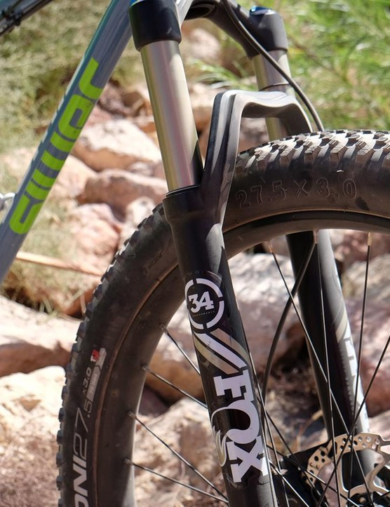 Plus sizes may meet in the middle with traditional mountain bike tires in the coming years