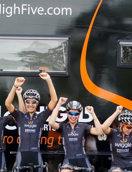 The Wiggle High5 Pro Cycling team