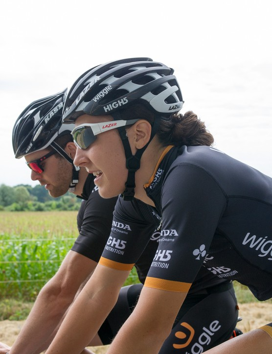 The Wiggle High5 team took us for a ride the next day, albeit at a much more leisurely pace