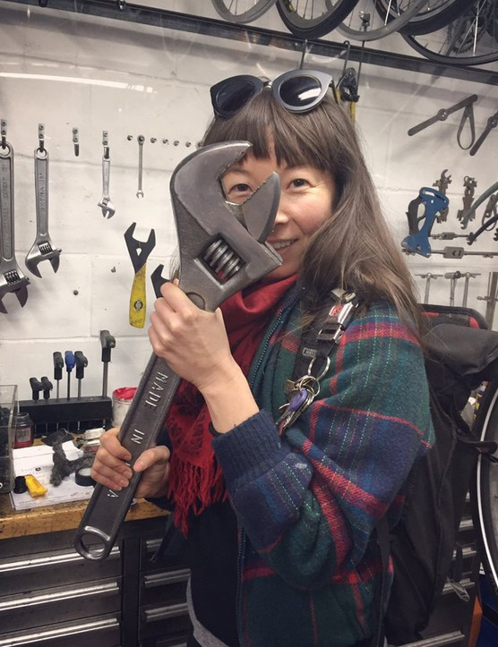 Jenni Gwiazdowski is the founder and director of the London Bike Kitchen