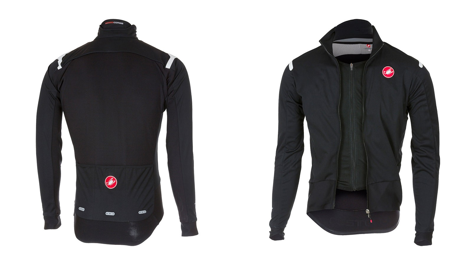 The RoS Jersey has Windstopper sleeves and front panels with a ProSecco Strada liner that has its own zipper