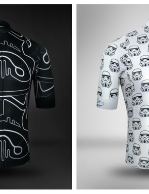 The Stormtrooper jerseys get the same technical specifications as Milltag's Club jersey