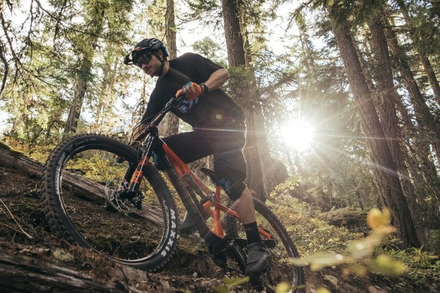Rocky Mountain's goal with the new Pipeline was to combine an aggressive, all-mountain frame with plus-size tire confidence