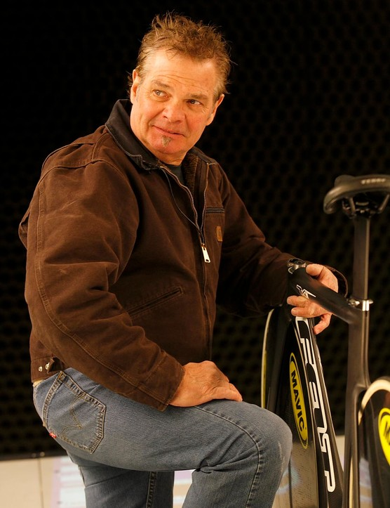 Jim Felt founded his bicycle company in 1994.