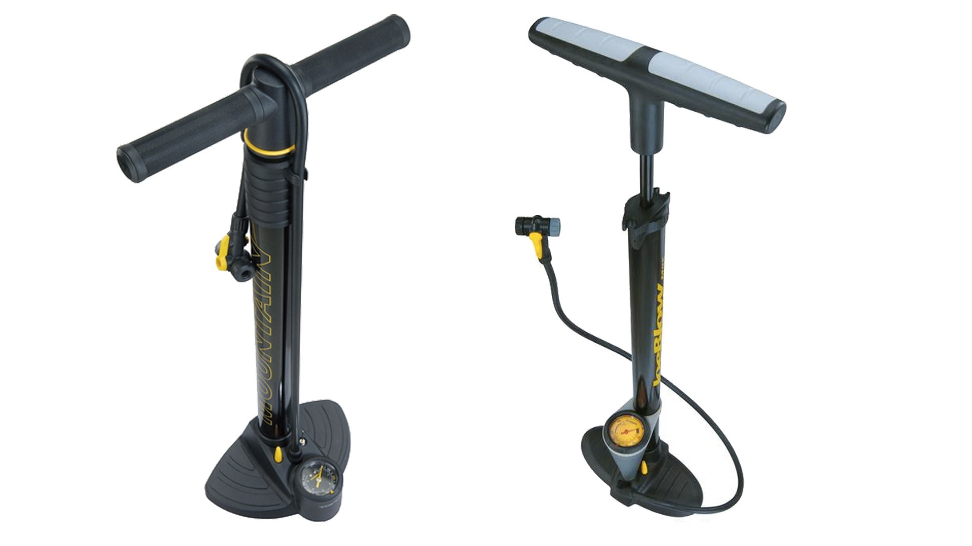 Trust us, a track pump is WAY easier to use than a hand pump