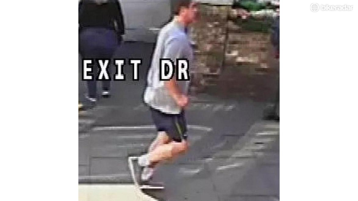 If you recognise this fool, help get him arrested