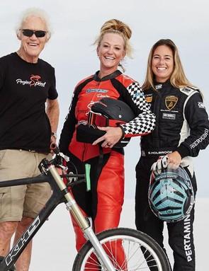 John Howard, Denise Mueller-Koronek and Shea Holbrook