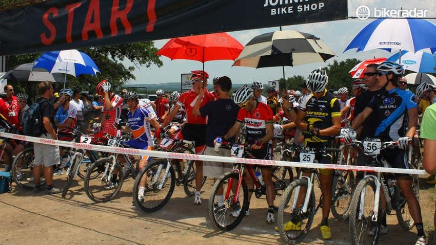 Competitors in the 2010 Mellow Johnny's Classic did all they could to combat the scorching 38°C (100°F) temperatures