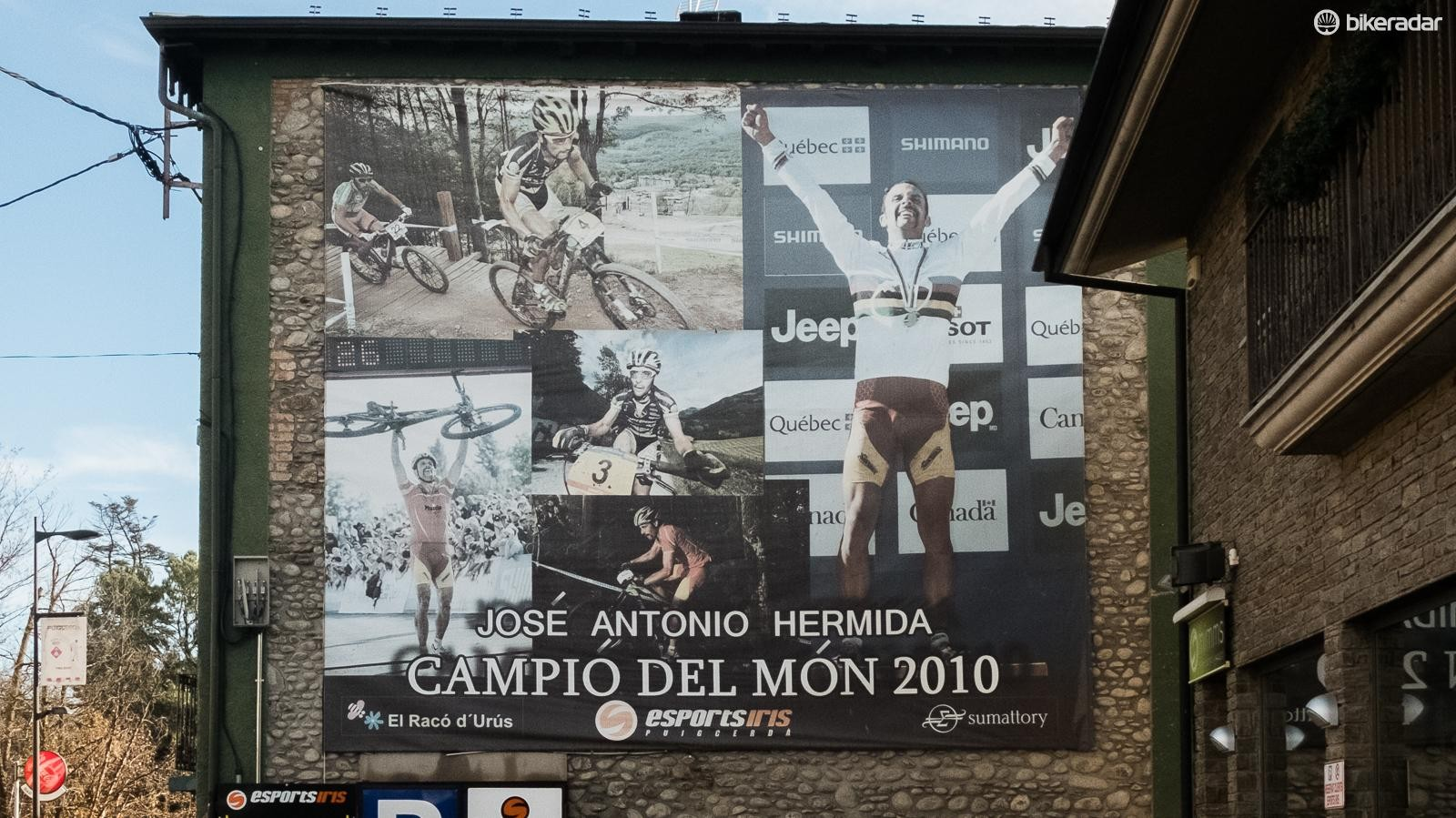 There are pictures of José, the local hero, seemingly everywhere you turn in his hometown of Puigcerdà, Spain