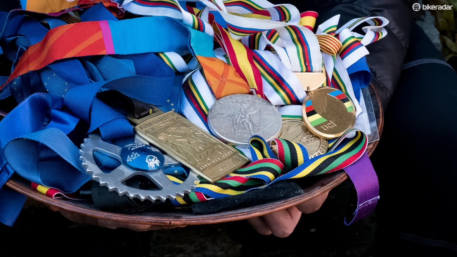 Yes, that is an Olympic silver medal