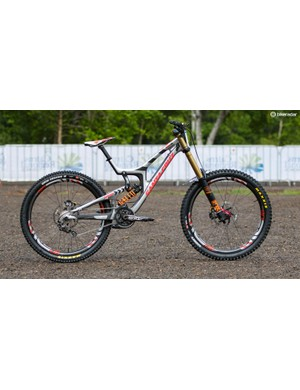 The Santa Cruz V10 CC belonging to one of the most exciting riders to watch – Josh 'Ratboy' Bryceland