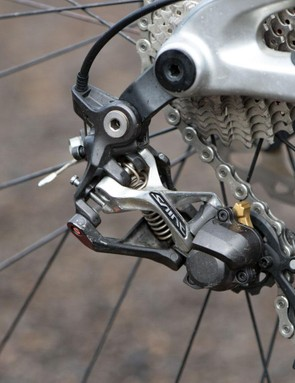 Shimano Saint has changed much in recent years, but it doesn't stop riders from winning with it
