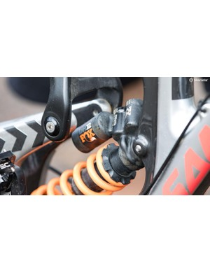 Formerly ridden by pros with 'RAD' labels, the Fox DHX2 shock is now available to everyone