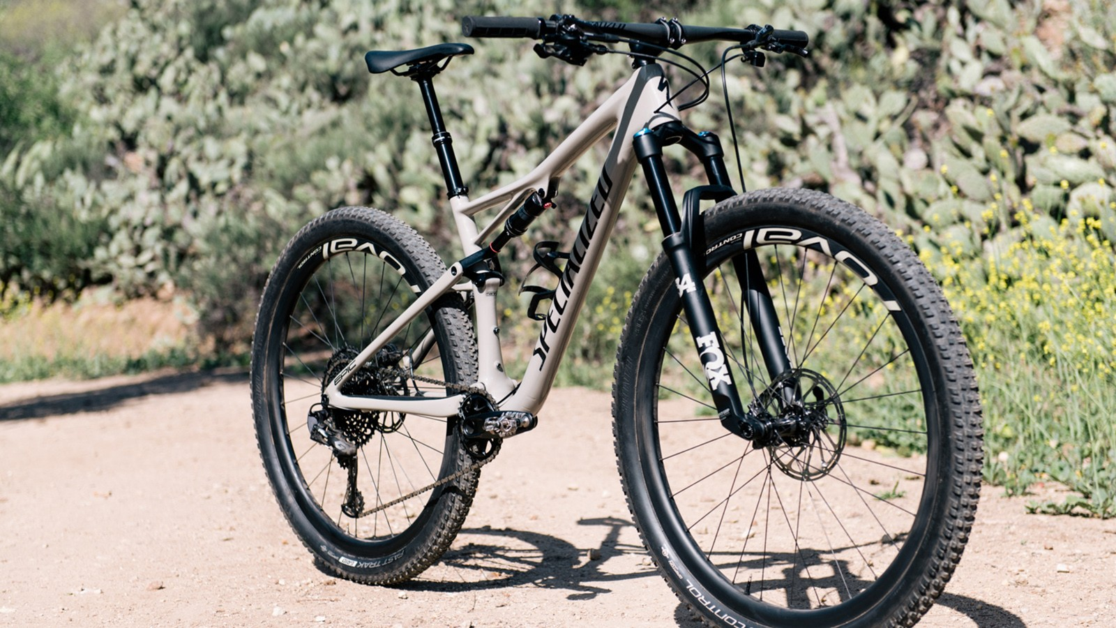 The updated Specialized Epic EVO features a longer travel 120mm fork