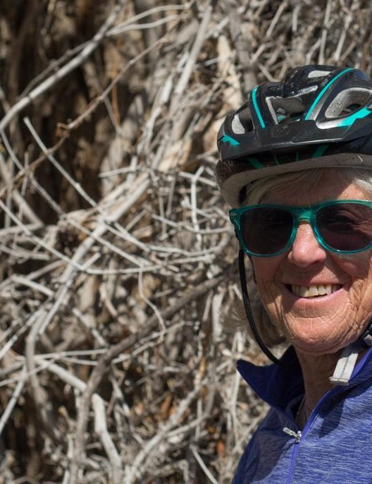 Judy Lokey took up cycling two decades after moving to Colorado