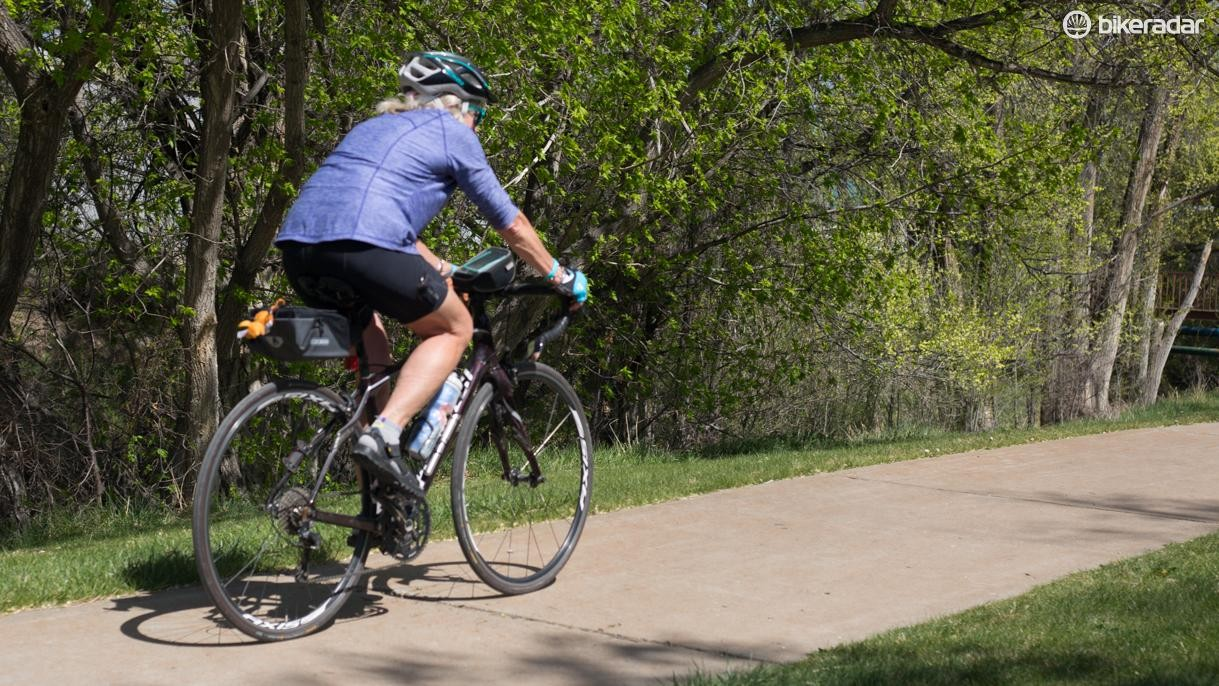 Judy Lokey uses riding as an excuse to travel around the country visiting friends and family
