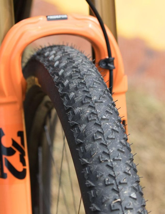 Want to use the same tyres as Julien Absalon? Just ask for Continental Race Kings in a 2.2in width