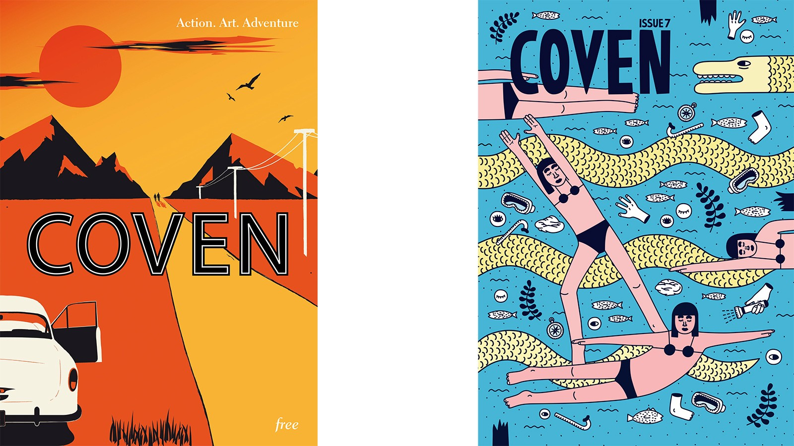 Elliott launched and ran Coven magazine for two years